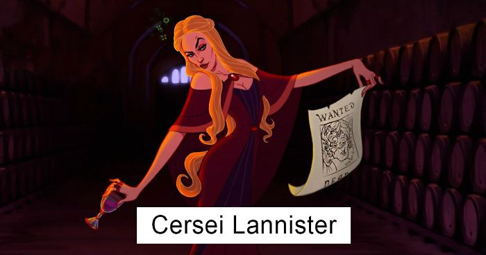 If Game Of Thrones Was Made By Disney Bored Panda