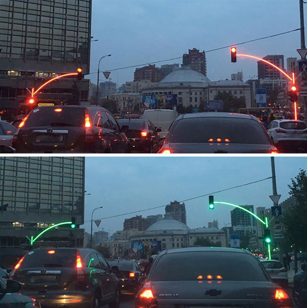 These Traffic Lights In Ukraine