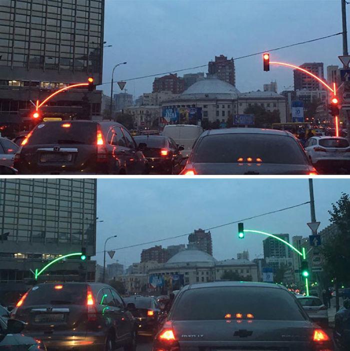Semáforos en Ucrania