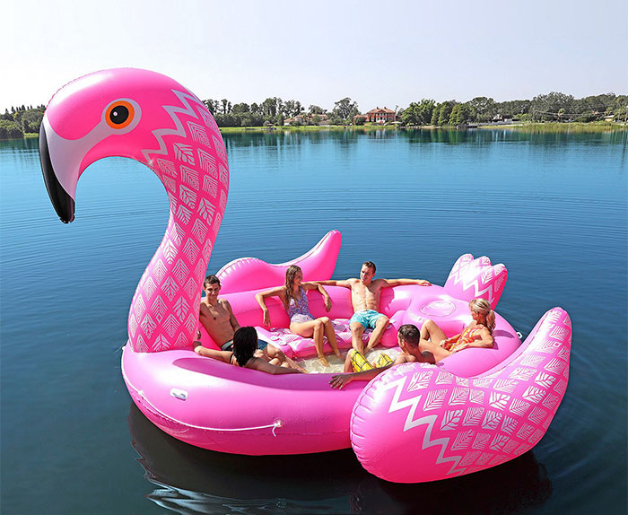 Fitting Up To Six People These Giant Unicorn Floats Are