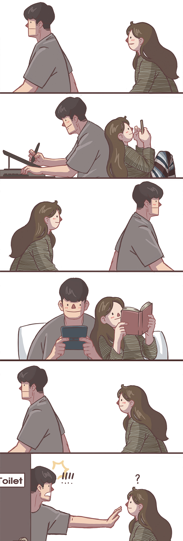 Girlfriend-Boyfriend-Relationship-Illustrations-Gyungstudio