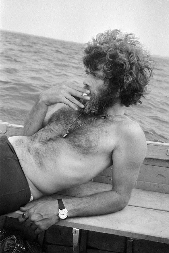 Otro amante de Masha, Viktor Krivulin, en Novolukoml, Bielorrusia, 1979