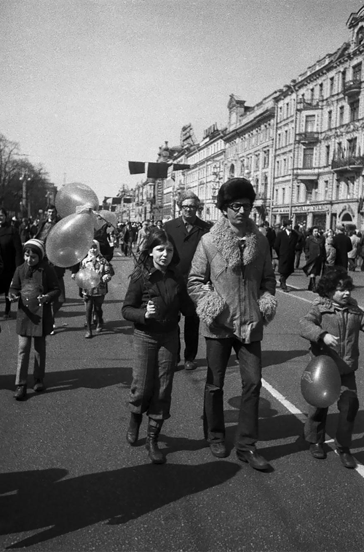 Leningrad,USSR, 1978