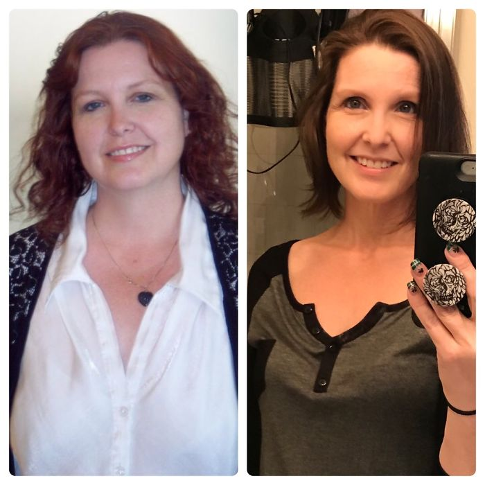 6 Years Past, 130 Lbs Lost, Happier All Around. #2012vs2018