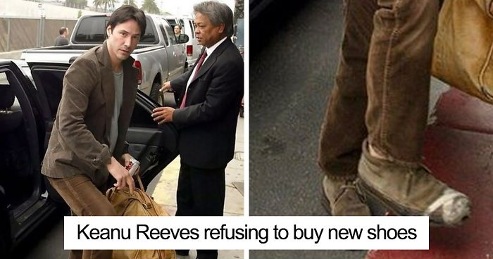 The Internet Cant Stop Laughing At Keanu Reeves Doing Things 26