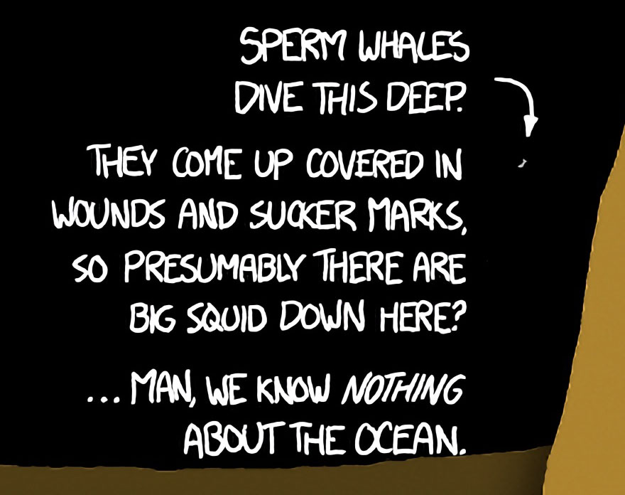 This Mind-Blowing Illustration Shows How Deep The Ocean Is, And It