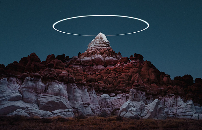 Genius Photographer Uses Drones To Capture Mountain Halos, And The Result Is Out Of This World
