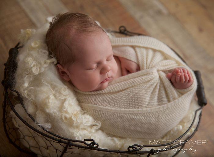 We Had The Cutest Newborn In Our Studio!