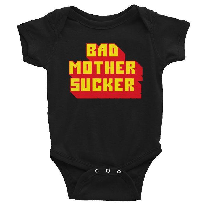 Bad Mother Sucker – Pulp Fiction Baby Grow