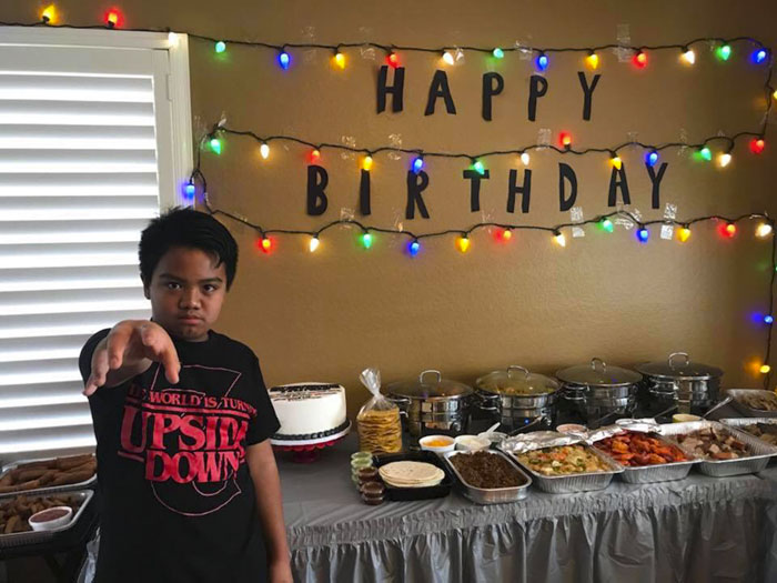 No One Came To This Kids 'Stranger Things' Birthday Party And Here's How Millie Bobby Brown Reacted
