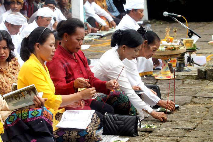 Tawur Kesanga Hindus Ceremony