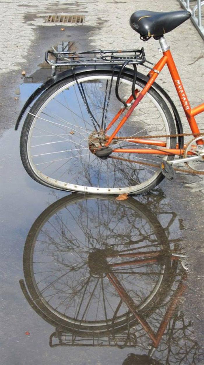 Esta bicicleta, ¿está rota o no?