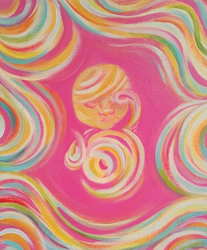 Baby Ultrasound Art