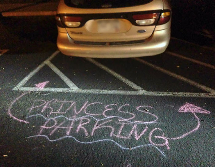 My Friend Parked Like A D-Bag. The Neighbor Kids Left Him A Message