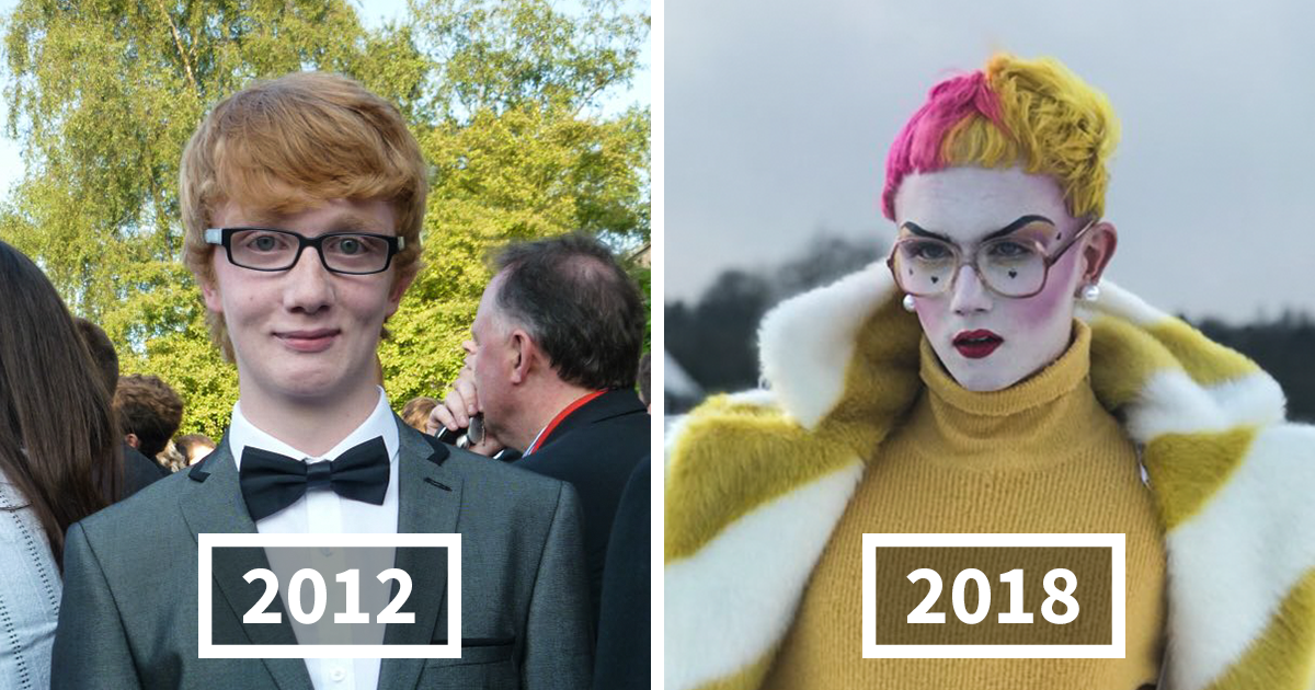10+ Increíbles transformaciones #2012vs2018 que demuestran lo irreconocible que se puede volver la gente en solo 6 años