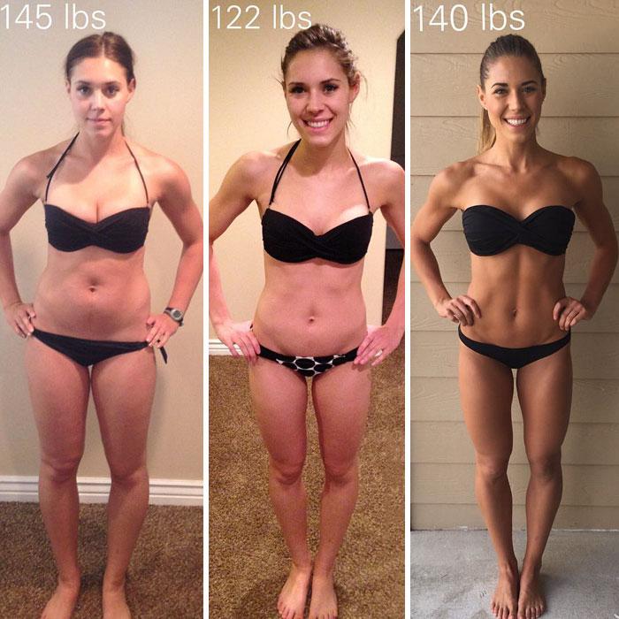 Dejad de pensar que vuestro peso equivale a vuestro progreso