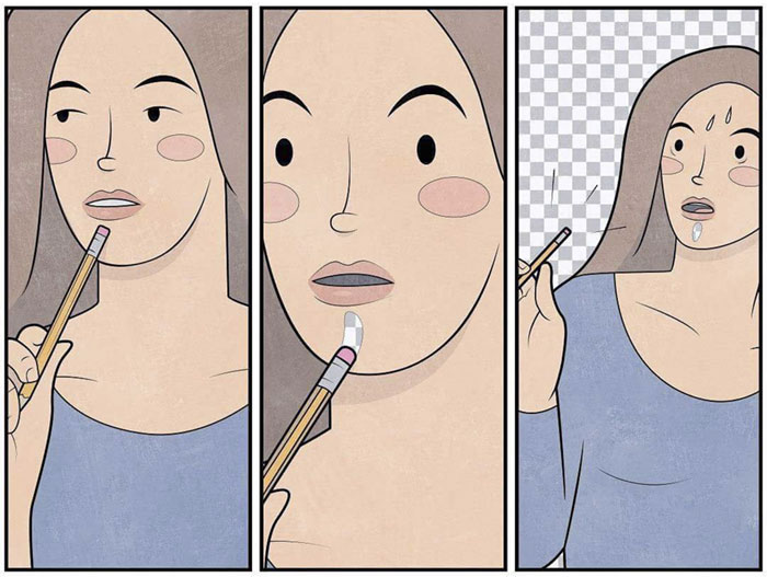 75 sarcastic illustrations by gudim that you ll need to see twice to