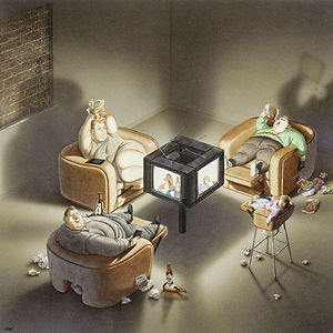 Satirical Illustrations