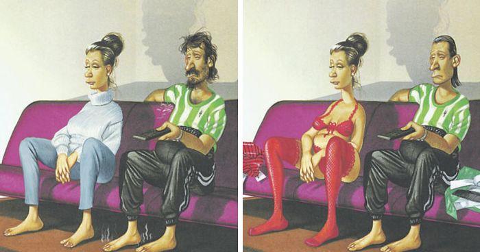 31 Ilustraciones brutalmente honestas de Gerhard Haderer que muestran lo que va mal con la sociedad actual