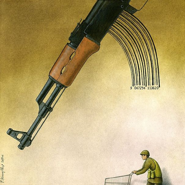 Satirical-Illustrations-Polish-Pawel-Kuczynski