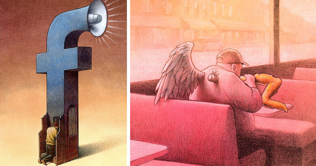 78 More Brutally Honest Illustrations By Pawel Kuczynski Show What's Wrong With Today's Society