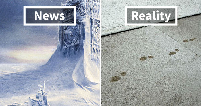 Internet Can't Stop Laughing At Brits Who Are In Absolute Chaos Because Of A Little Snow