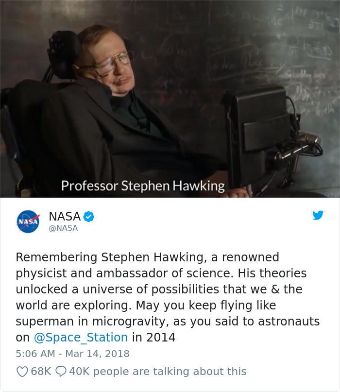 Stephen Hawking Tribute
