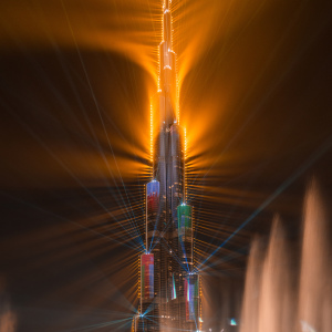 I Was Lucky Enough To Capture Dubai's World Record Laser Show