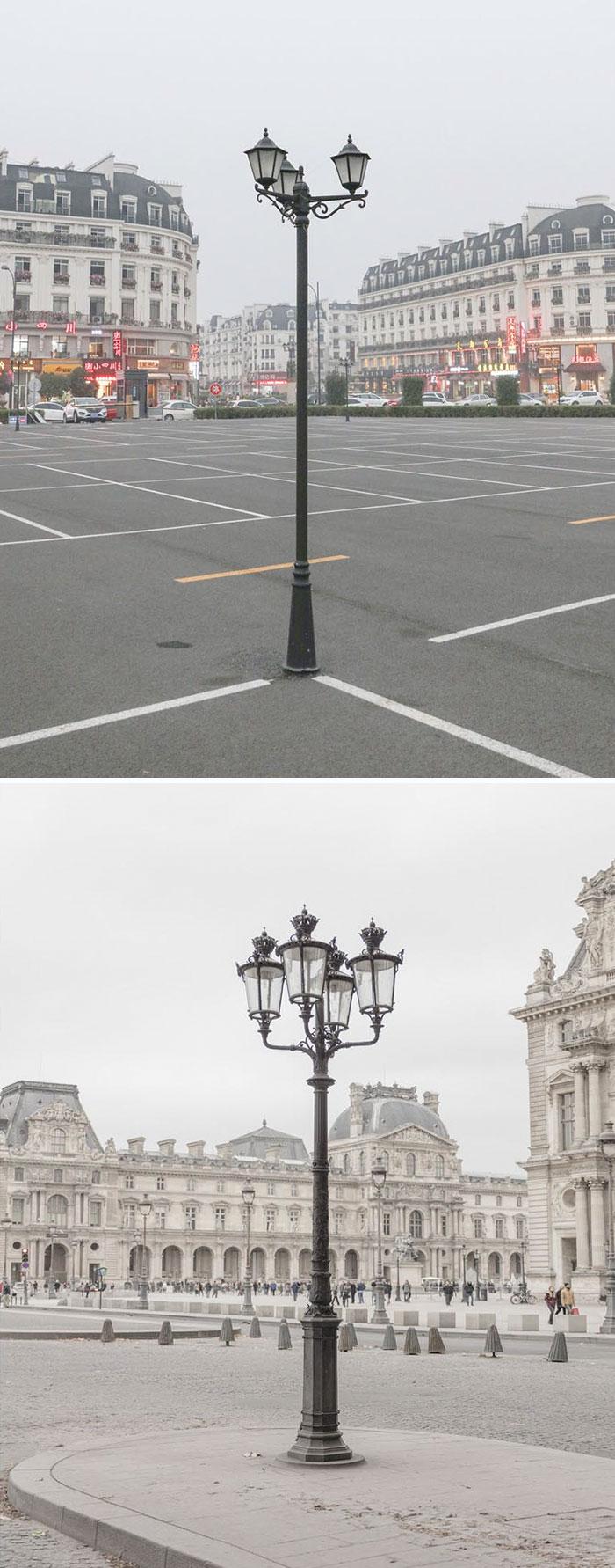 Top: China, Bottom: Paris