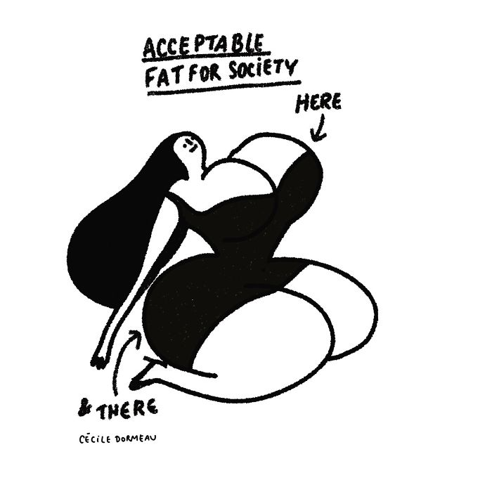 New-Women-Illustrations-Cecile-Dormeau
