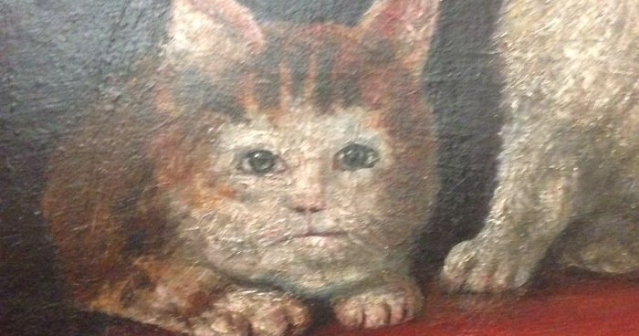 Someone Noticed How Ugly Medieval Cat Paintings Are And Its Too
