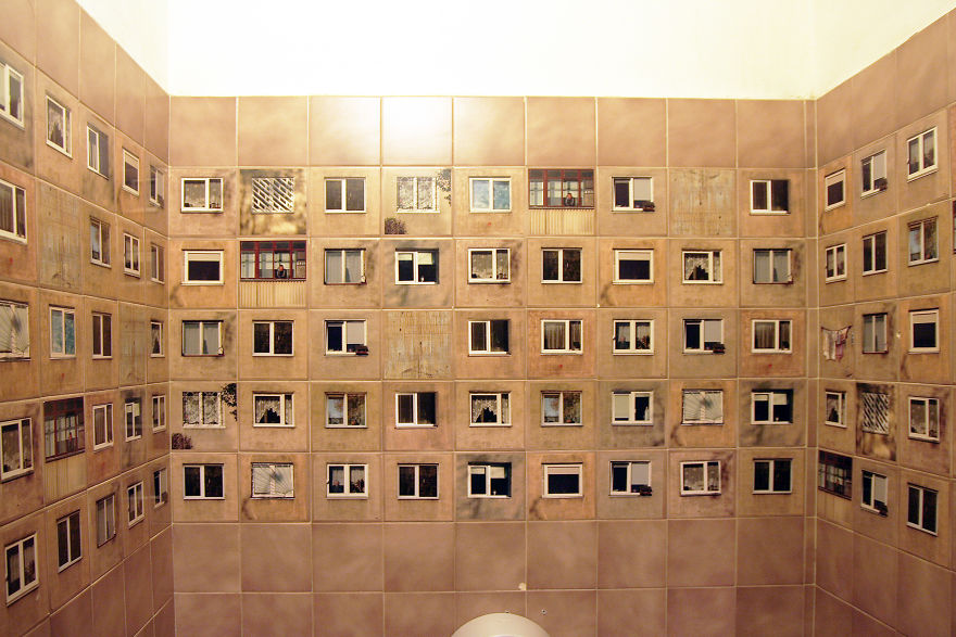 Restaurant Hires Designers To Redecorate Their Bathroom But Doesn't Allow To Change The Tiles, So They Do This