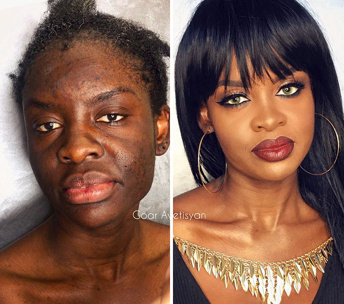 "30 Incredible Makeup Transformations That Prove ""Every Woman"