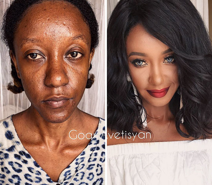 """30 Incredible Makeup Transformations That Prove """"Every Woman"""