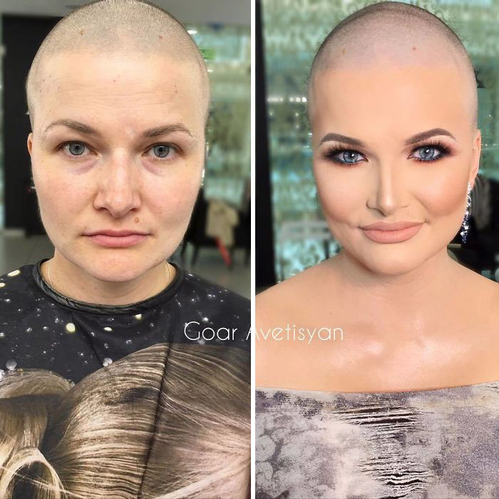 Goar Laid Out A Video With A Transformation And Asked Subscribers Who Would Like To Have One Too. She Got The Response From Svetlana Who Wanted A Big Change After Chemotherapy