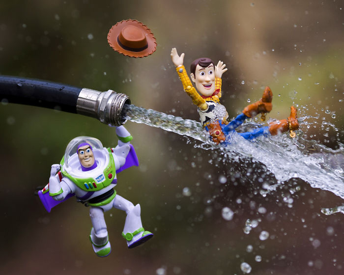 I Challenged Myself To Create A New Toy Story Photo Every Day For A Month