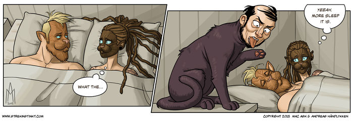 10+ Comicstrips That Illustrates Everyday Situations In Our Life, Through A Lens Of Surrealism.