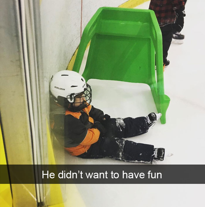 He Didn't Want To Have Fun