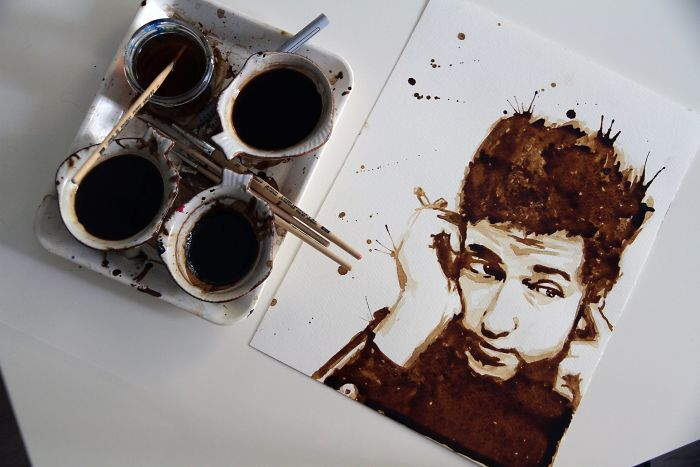 It's Fun To Paint With It… (Musician: Bob Dylan)