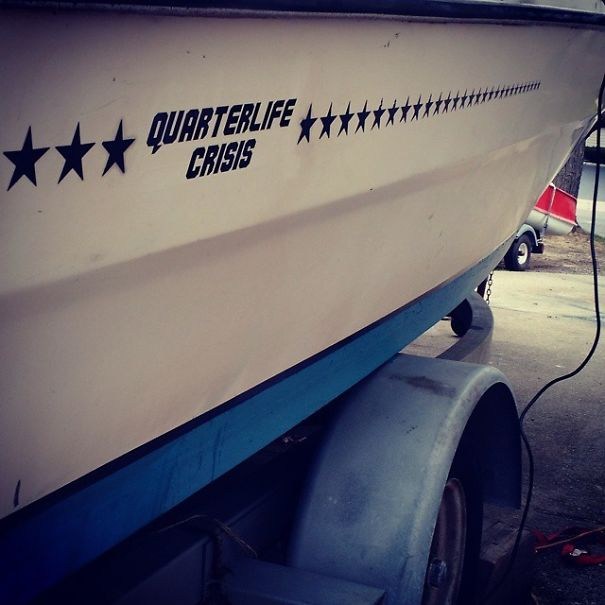 The Boat Has Been Properly Named
