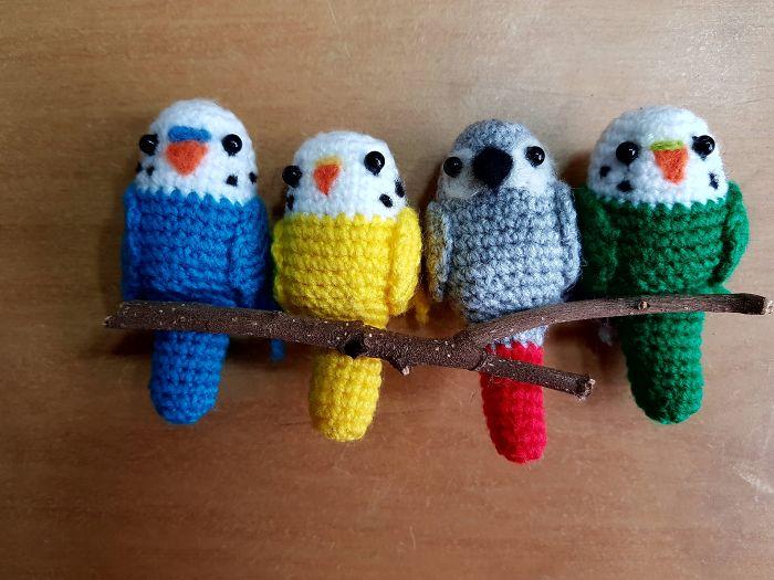 I Can't Keep Birds At My House So Instead I Crochet Myself A Flock