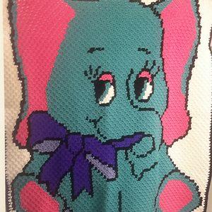 My Original Design For A Baby Blanket/throw. So Cute!