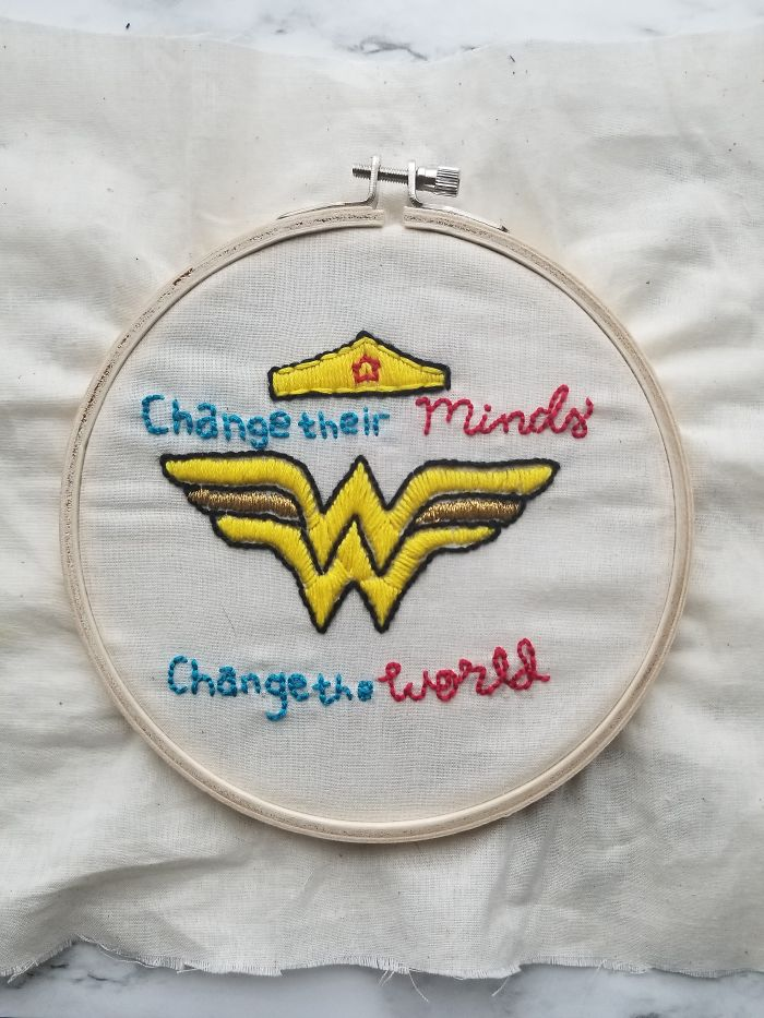 Mother's Day Gift For My Aunt That Is An Inspiring Educator And Loves Wonder Woman