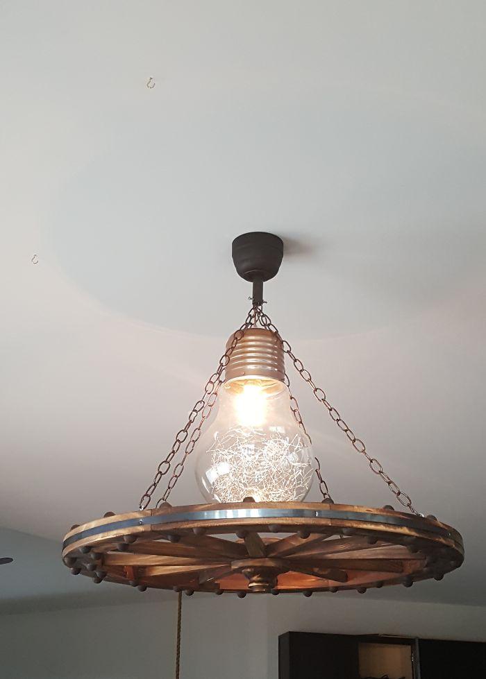 Modern Antique Chandelier