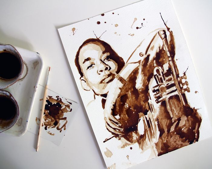 … And Now I Plan Doing Bigger Canvases With It (Musician: Lee Morgan)