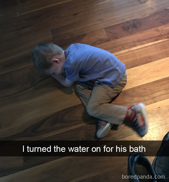 I Turned The Water On For His Bath