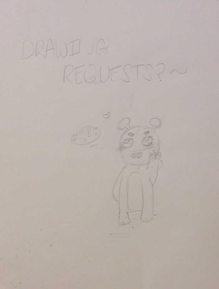 Sketched Drawing Requests Anyone?