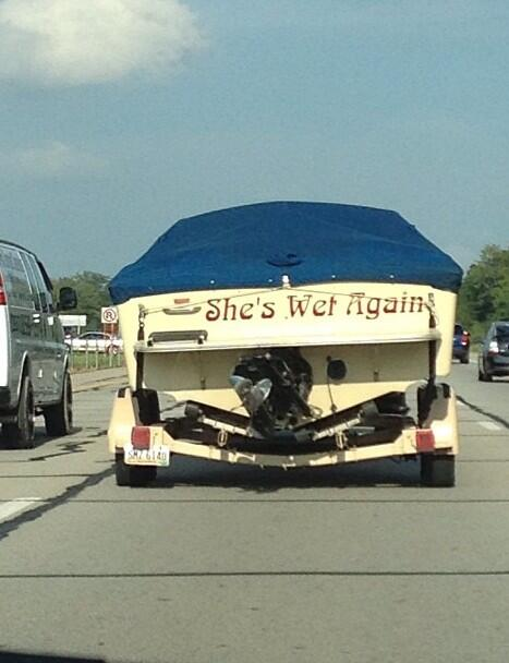 I Think We Have A Possible Name For Our New Boat