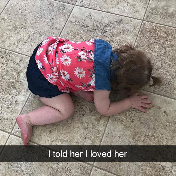 I Told Her I Loved Her