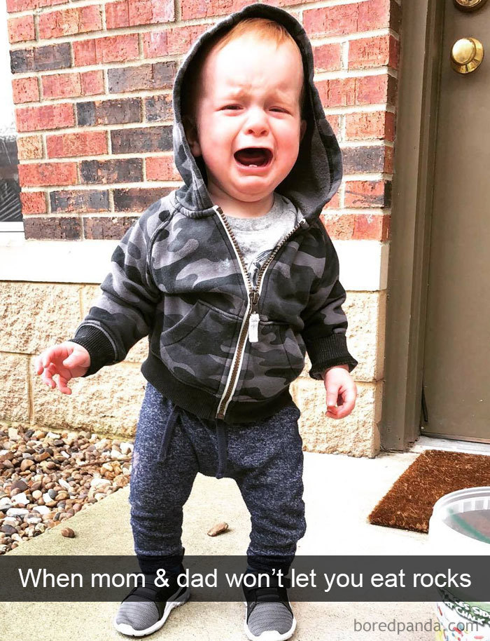 When Mom & Dad Won't Let You Eat Rocks....
